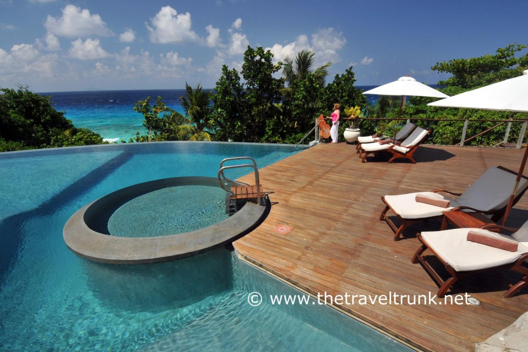 Swimming pool Fregate Island