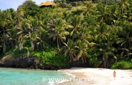 SLEEPY FREGATE ISLAND IN THE SEYCHELLES