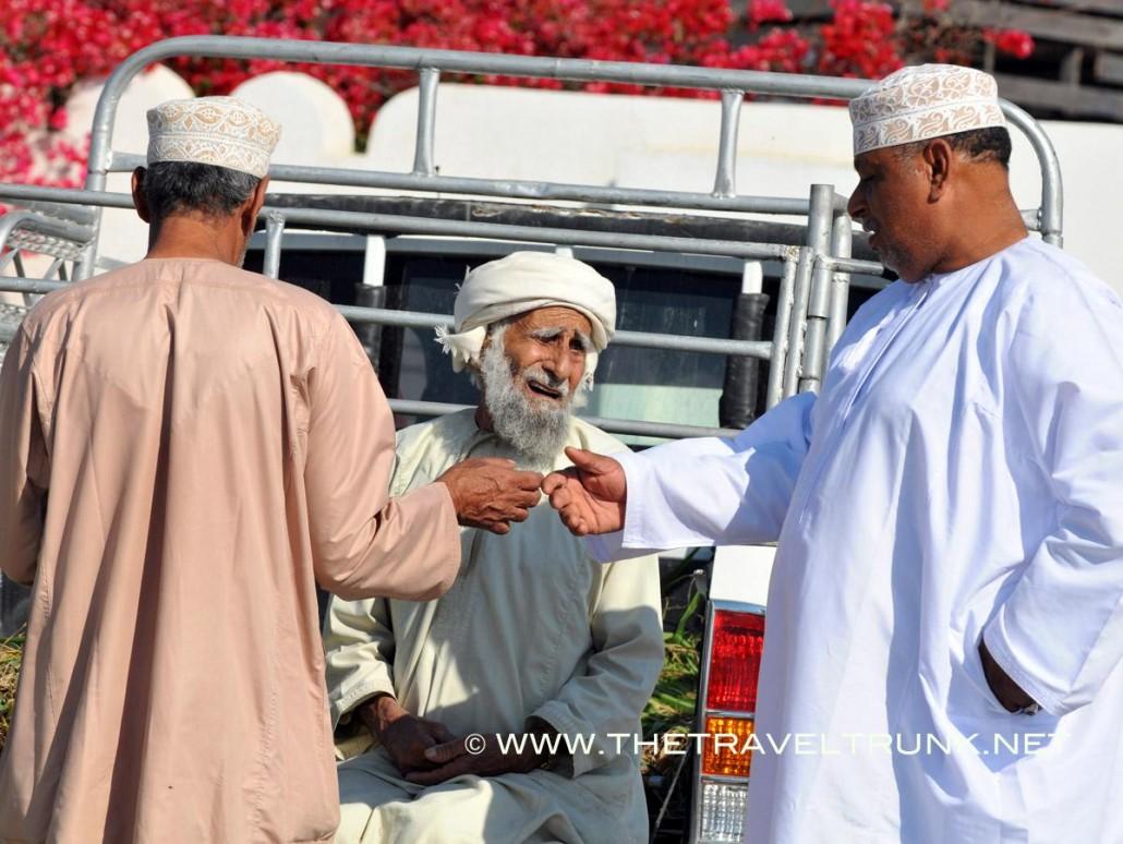 Oman market