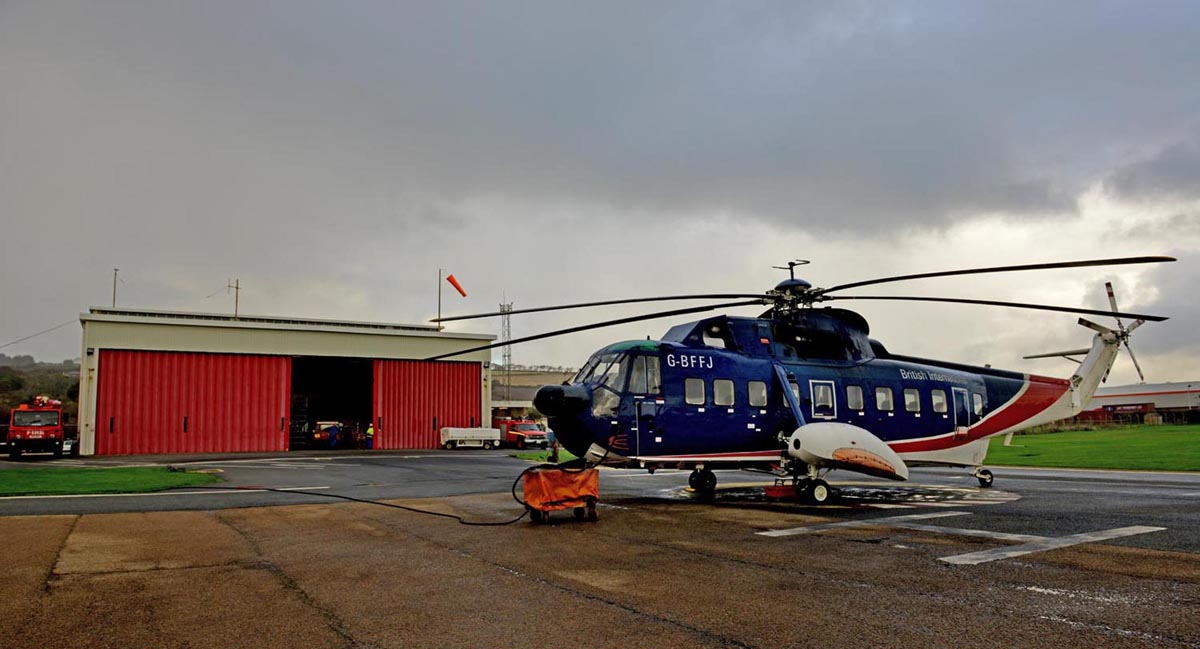Helicopter Link To The Isles Of Scilly Ends After 49 Years