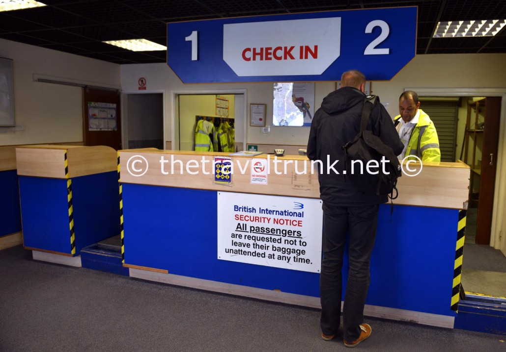 Check in desk