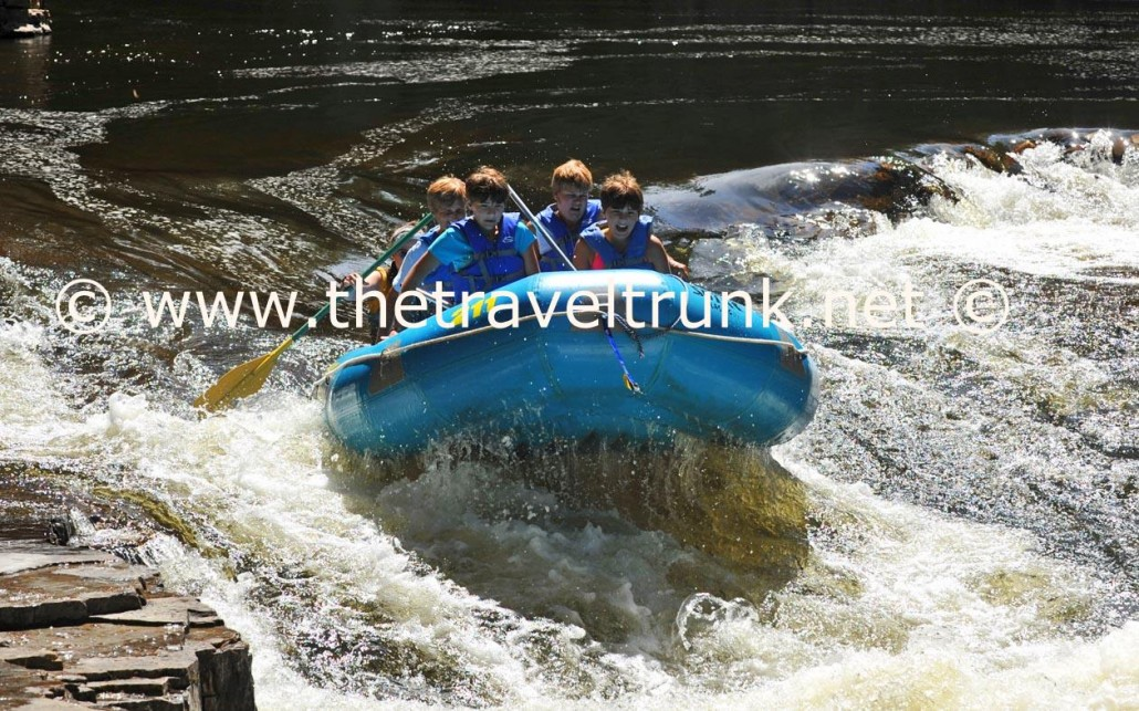 Ausable Chasm raft ride