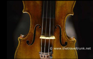 RARE STRADIVARI VIOLIN PLAYED FOR TRAVEL WRITERS
