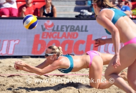 BEACH VOLLEYBALL THE UK'S FAVORITE VENUE