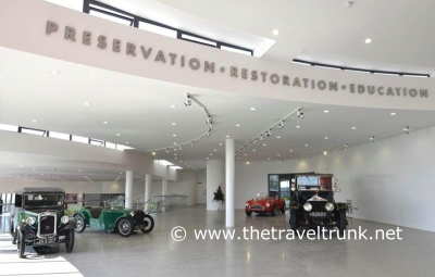 ITS AT REAL DUESEY OF A MOTORING MUSEUM!