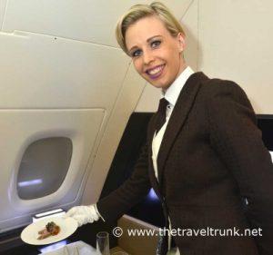 Butler on Eithad A380