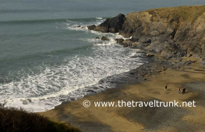 LUXURY FAMILY FRIENDLY THE POLURRIAN BAY HOTEL ON THE LIZARD IN CORNWALL.