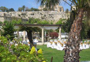Phoenicia Hotel garden