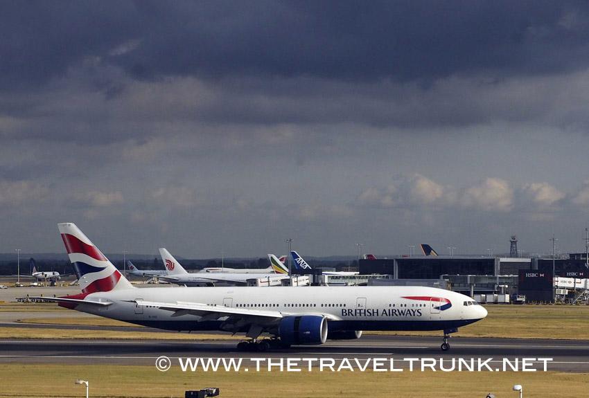 A BA Boeing 777
