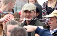 DAVID BECKHAM & COLIN FIRTH IN WEYMOUTH