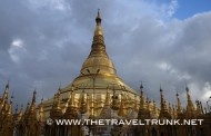 THE GOLDEN PAGODA IN YANGON