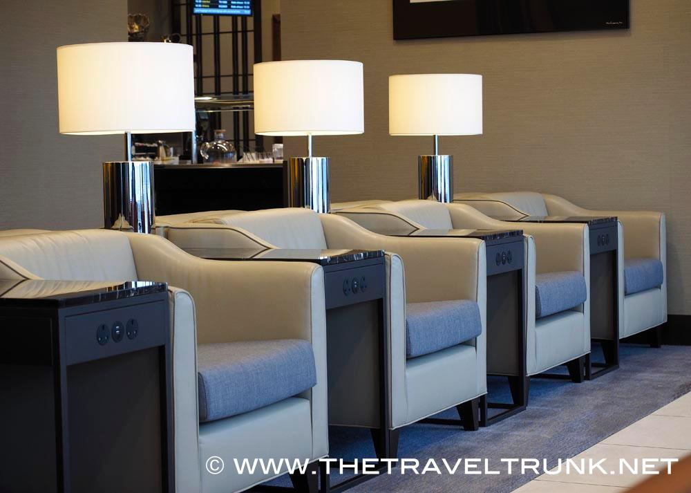 SINGAPORE AIRLINE'S NEW SILVER KRIS LOUNGE LONDON