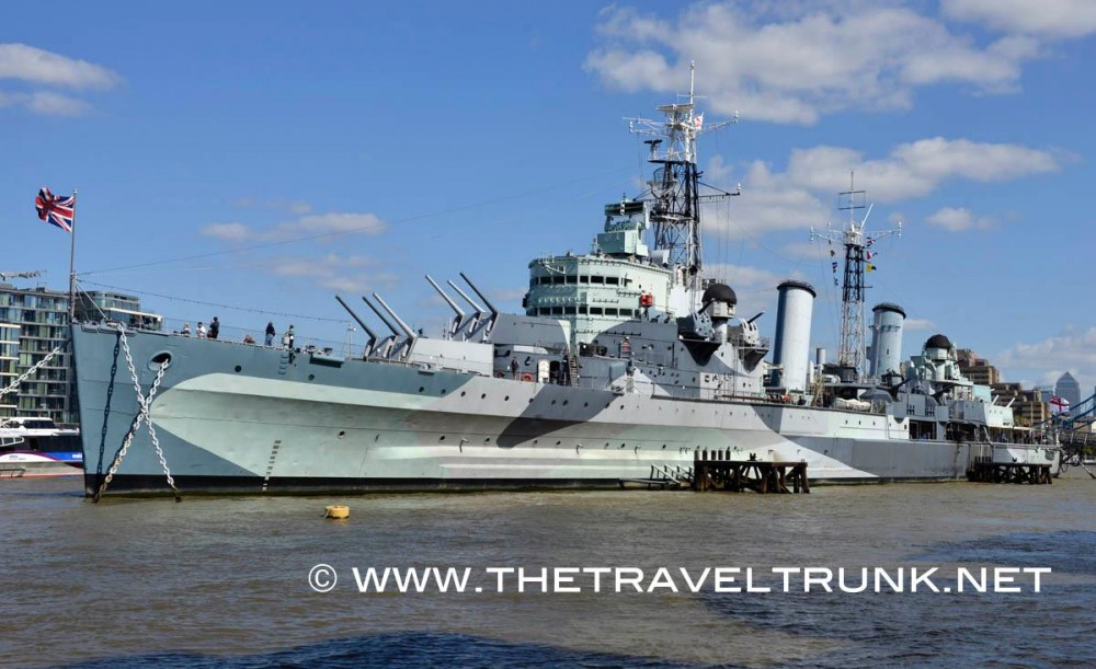 HMS BELFAST A COOL DAY OUT