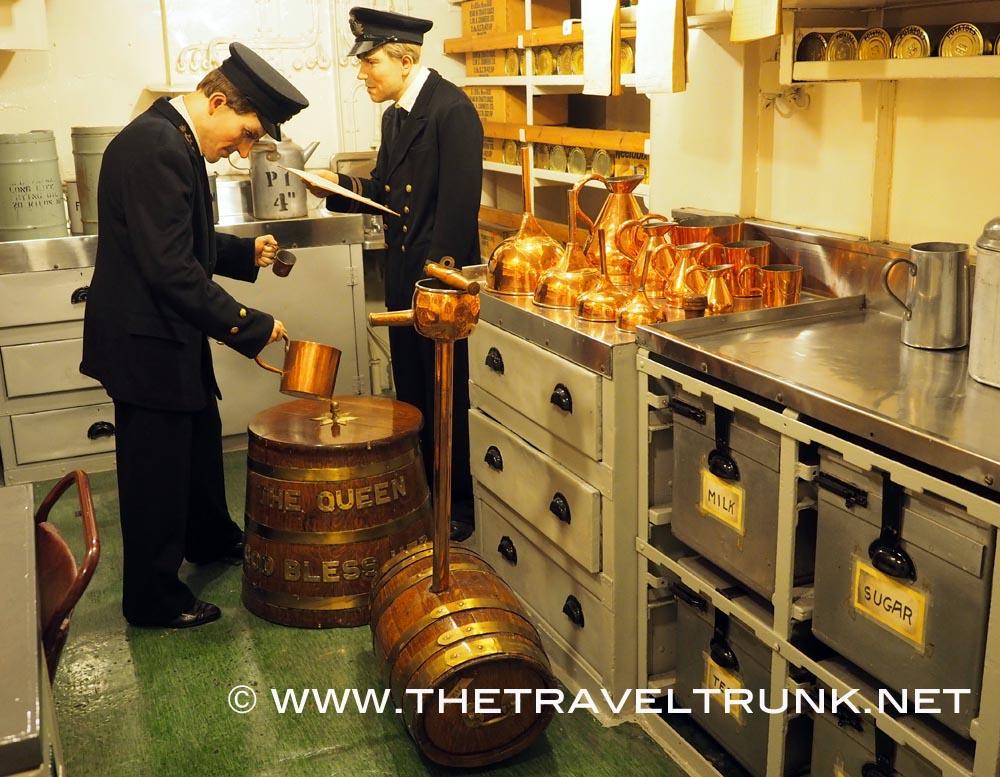 Rum HMS Belfast