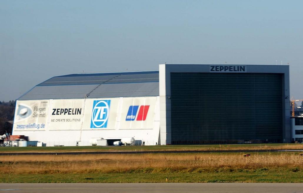 Zeppelin hanger
