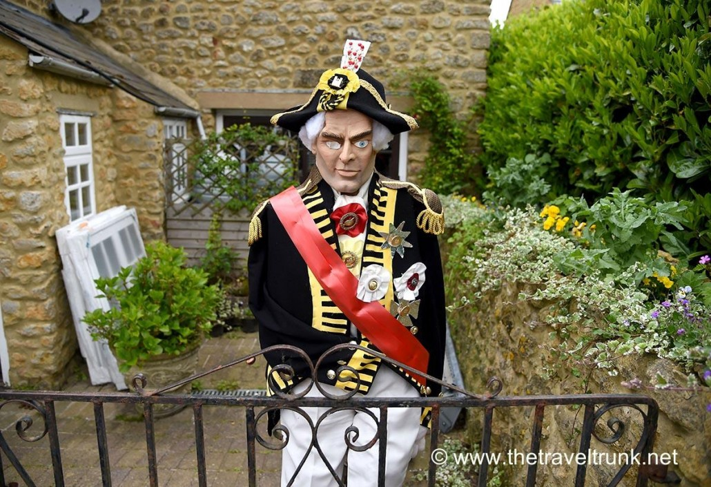 Admiral Nelson scarecrow.