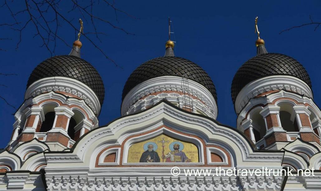 Alexander Nevsky Cathedral Tallinn.