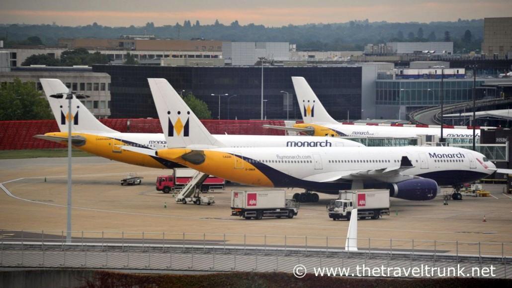 Monarch planes