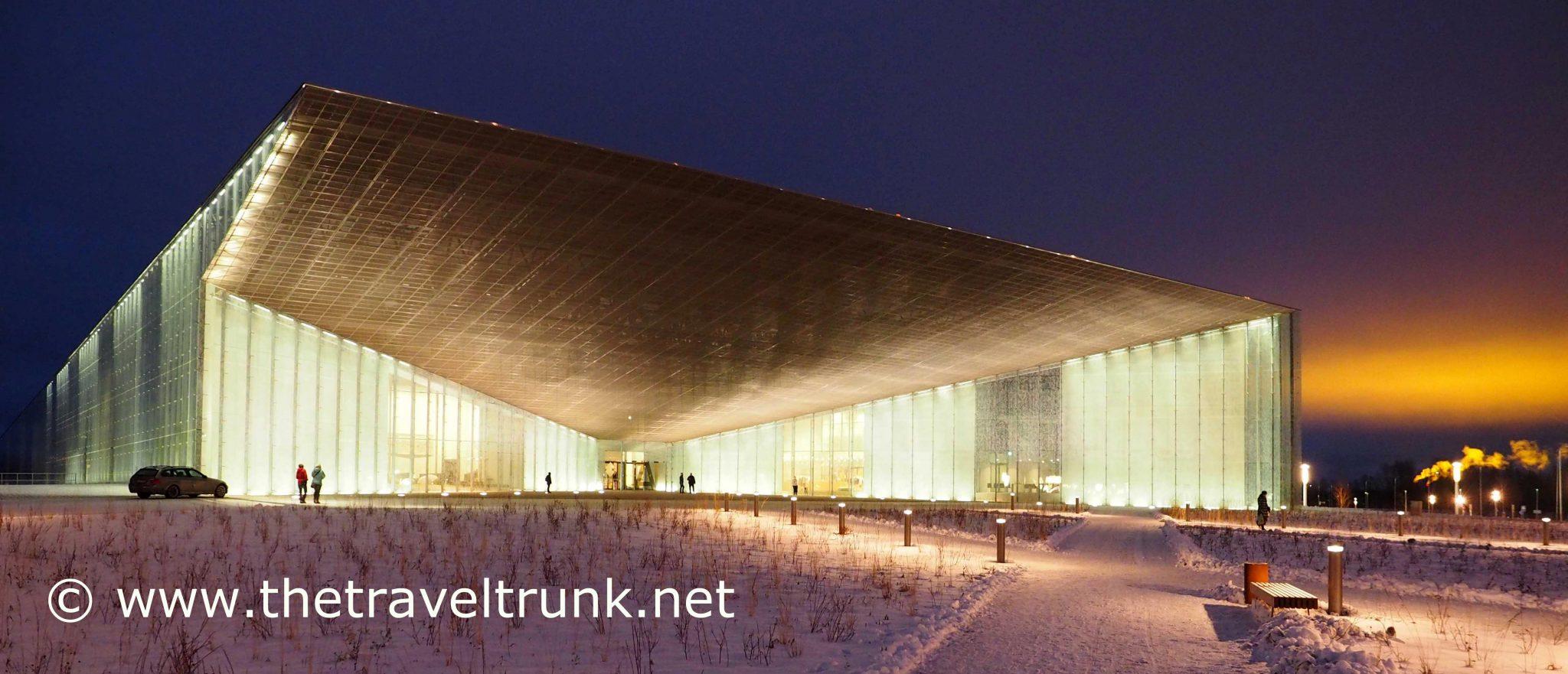 LIGHT SHINES ON NEW ESTONIAN MUSEUM