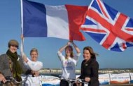 CYCLISTS BOOST TOURISM IN FRANCE AND BRITAIN