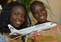 NEW BIRD FLIES IN TO THE GAMBIA