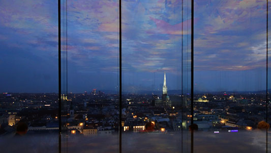 IS THIS THE VERY BEST VIEW IN VIENNA ?