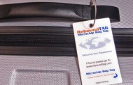 REBOUND TAG FINDS LOST AIRLINE LUGGAGE