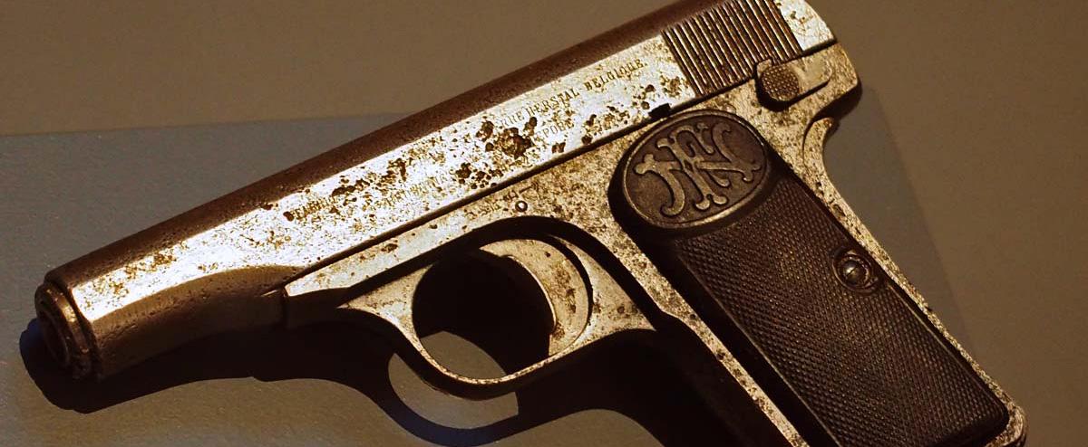 ARCHDUKE FERDINAND GUN STARTED WORLD WAR I