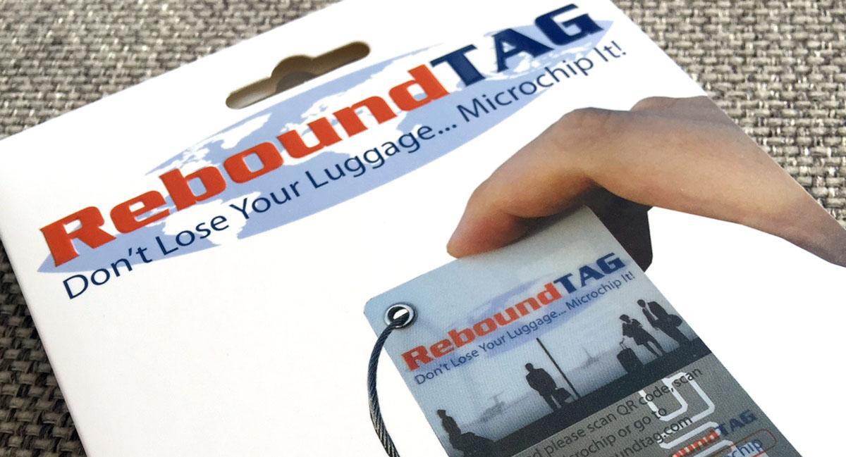 DON'T LOSE YOUR AIRLINE BAG ReboundTAG IT !