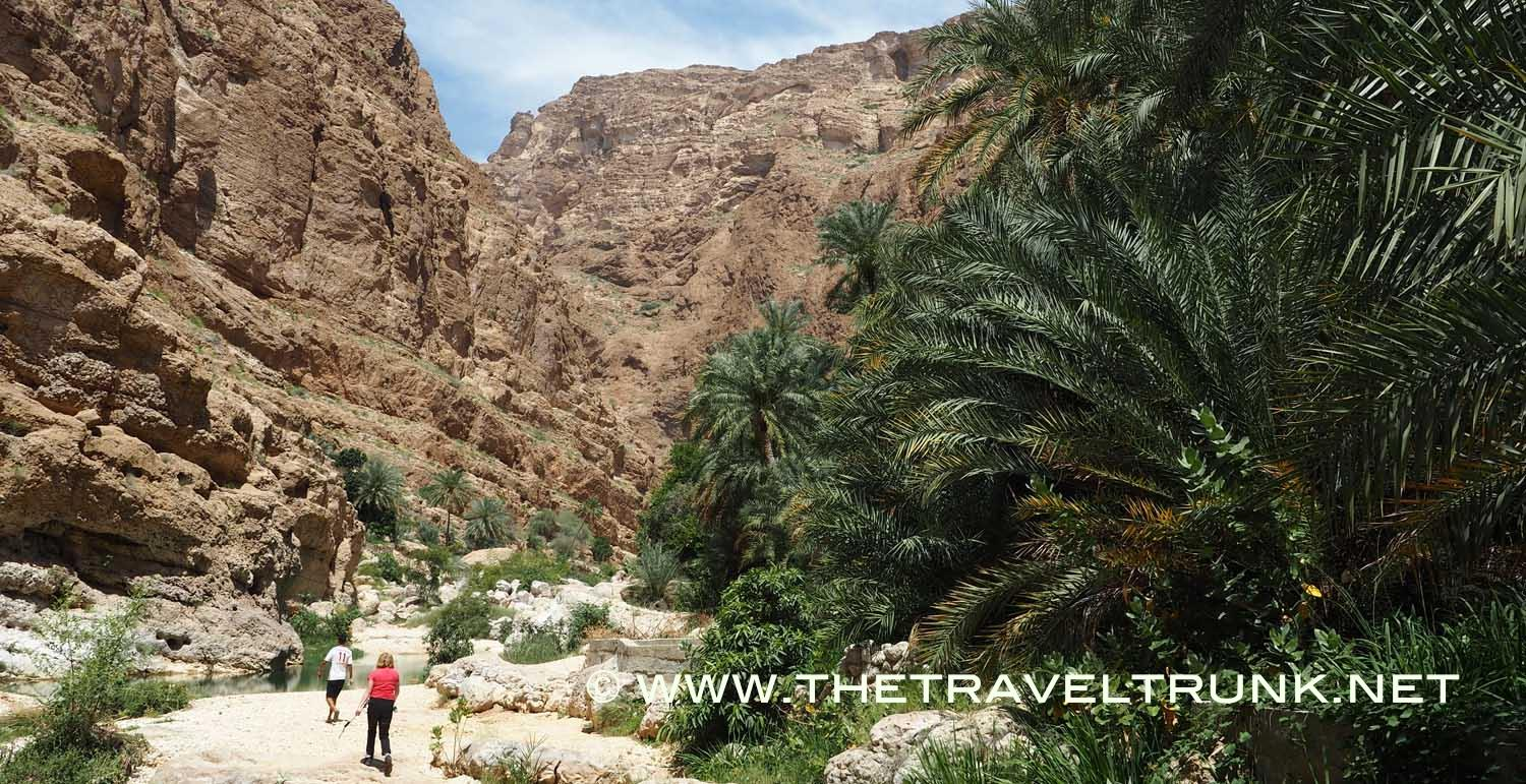 A RELAXING DAY OUT IN WADI SHAB