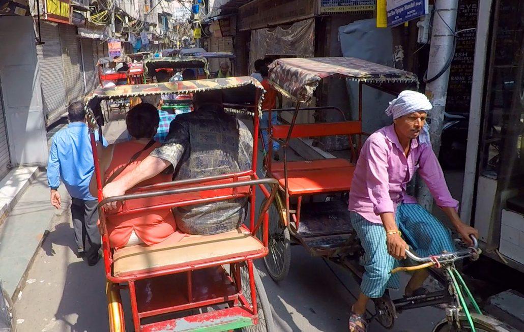 Rickshaws Delhi