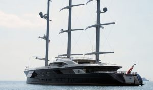 Black Pearl Superyacht Calls By - The Travel Trunk